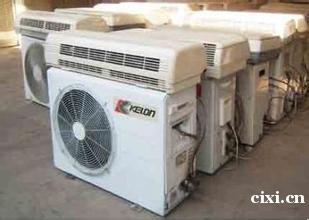 慈溪市周巷上门回收旧空调,二手空调,中央空调等专业回收