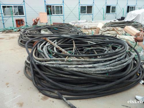 长河电线电缆专业回收、慈溪全市高价回收电缆线,电线。