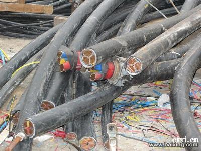 高价回收铜铝铁不锈钢电缆废旧设备等