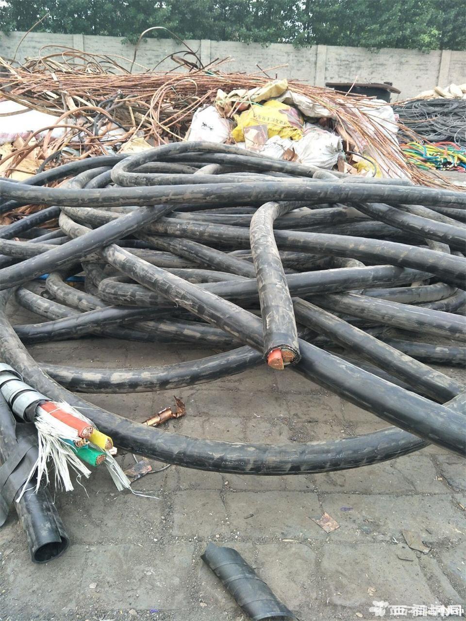 慈溪市高价回收铁铝铜电缆,废电缆线回收,电线回收