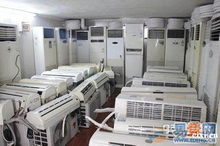 慈溪浒山二手空调回收,坎墩回收二手空调各种废旧物资,设备