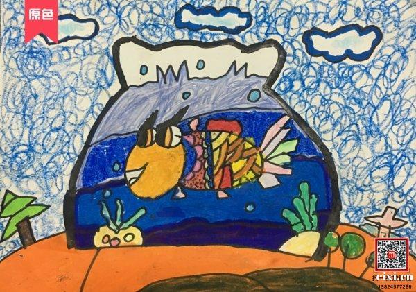 小朋友学画画儿童画智力开发绘画启蒙