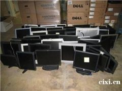 慈溪回收电脑,浒山公司电脑回收,杭州湾新区公司网吧批量旧电脑