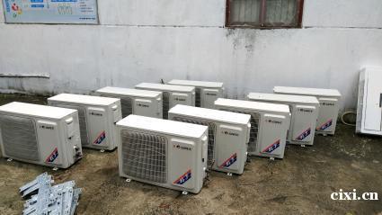 余姚高价回收饭店桌椅厨具二手空调家电家具