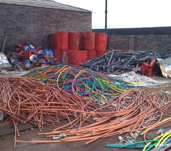 慈溪回收金属 拆迁料 废铜废铝 电线电缆不锈钢塑料