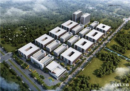 宁波慈溪高新区 独栋厂房层高7.8m 首付3成